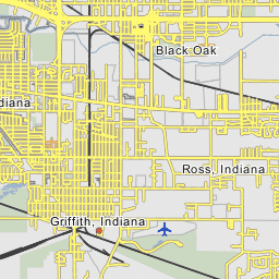 US Steel Gary Works Gary Indiana - Us steel gary works map