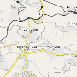 Alchevsk City - Alchevsk map