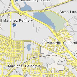 Shell Martinez Refinery Martinez California
