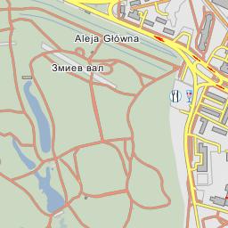 The Big Glade Bila Tserkva - Bila tserkva map