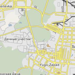 Saransk I Railway Station Saransk - Saransk map