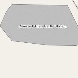 Comcast Titan Earth Station | satellite TV provider