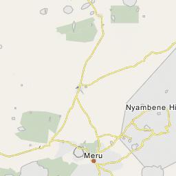 Mount Kenia Karte.Mount Kenya Massiv
