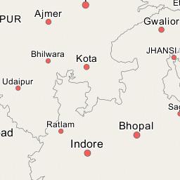 National Highway BeawarRadhanpur - Beawar map
