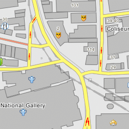 National Gallery London Map.National Gallery London English